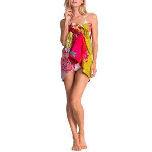 desigual floreada carry serviette de bain pas cher achat vente serviette de plage. Black Bedroom Furniture Sets. Home Design Ideas