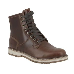 Timberland Boots Leavitt Waterproof Lace Boot Dark Brown Timberland soldes