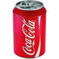 Ezetil - Glacière électrique de 12 / 230 V - 9 L en forme de canettes Coca-Cola