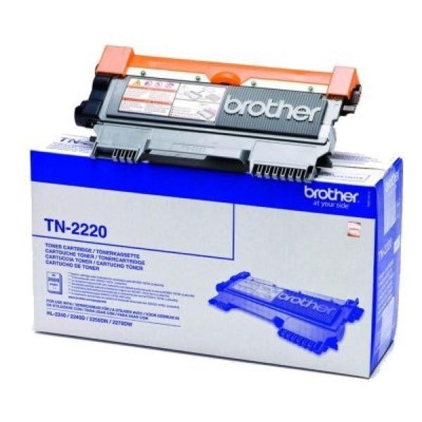 Totalcadeau Toner noir Brother Tn2220 authentique pour imprimante Hl-2240/50D/70DW - imprimante encre toner