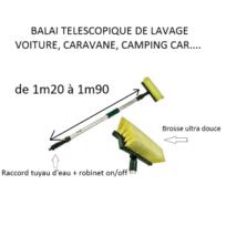 Antares - Balai de lavage téléscopique pour camping car et caravane