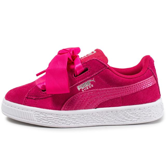 basket puma suede heart enfant