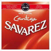 Savarez - 510CR Cristal Cantiga Tirant normal - Jeu de cordes guitare classique