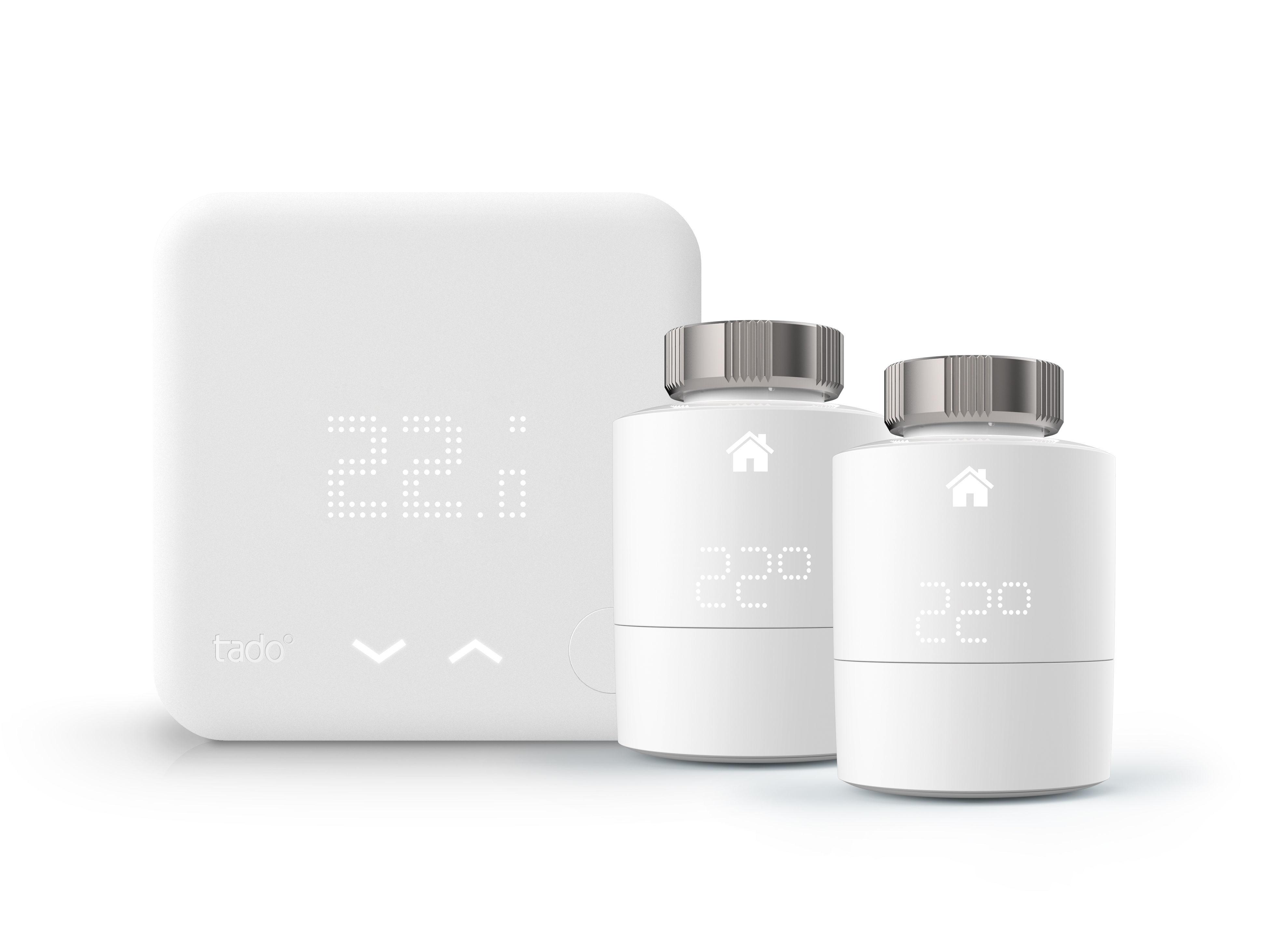 Starter Kit 2 têtes Thermostatiques + Thermostat connectés