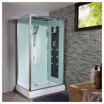 Planetebain - Cabine de douche intégrale rectangulaire 80x120 cm