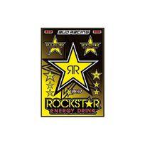 Rockstar Games - Planche stickers Bud Racing - Rockstar - Déco Dirt Bike