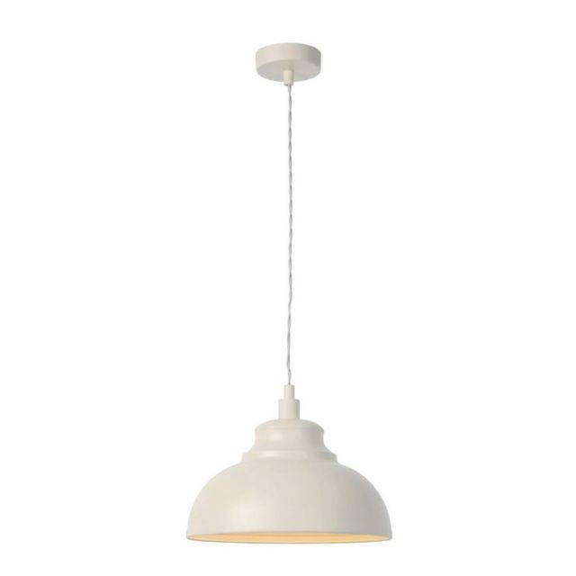 Lucide - Isla-suspension Métal Ø29cm beige crème