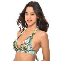 b583be617a Banana Moon - Haut de maillot de bain Triangle Push-Up Iquitos Maho  Turquoise