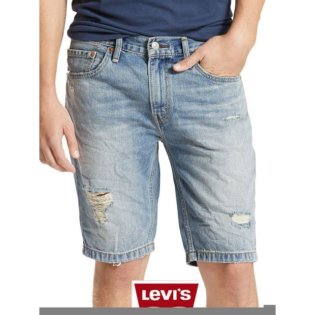bas prix 8ec73 847f3 Levi'S - Short jean Levis coupe 511 slim Hemmed blue ...