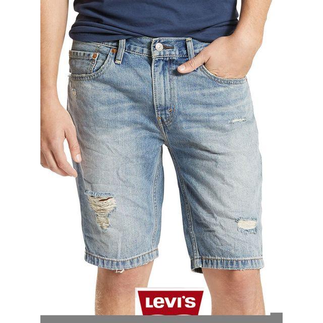 best cheap buy popular classic style Levi'S - Short jean Levis coupe 511 slim Hemmed blue ...