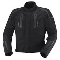 Ixs - blouson moto Drake textile homme toutes saisons 3 en 1 étanche noir L