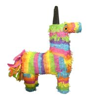 Unique - Pinata cheval multicolore