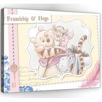 Bebe Gavroche - Tableau géant Winnie et ses amis Love Disney