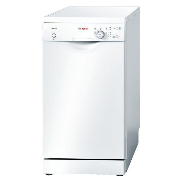 bosch lave vaisselle 45cm 9 couverts a pose libre blanc sps50e42eu achat lave vaisselle a. Black Bedroom Furniture Sets. Home Design Ideas