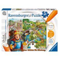 Ravensburger Spieleverlag - Rv Tiptoi Puzzle Die Ritterburg 100-TEILIG, Ab 5 Jahren 005161