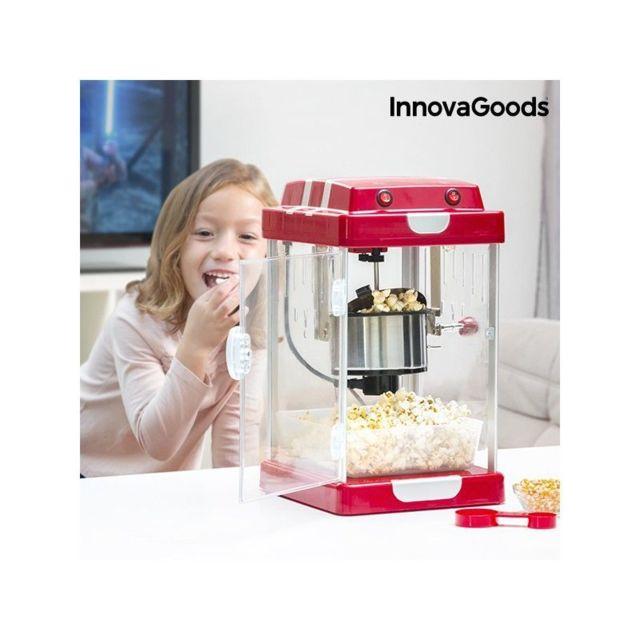 Marque Inconnue Machine à Pop-Corn Tasty Pop Times InnovaGoods 310W Rouge