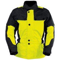 Ixs - Explorer Jacket Ii Black Yellow Kid