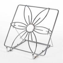 Marque Generique - Porte livre de cuisine - design fleur