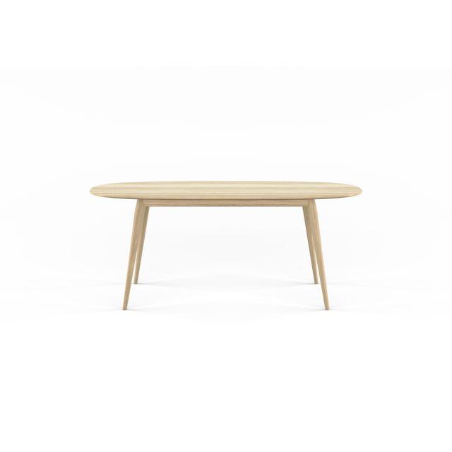 Bruunmunch Table Playdinner lamé - chêne savonné - 180 cm