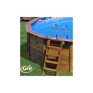 piscine center o 39 clair piscine ovale hors sol en bois 640 x 425 x 132 cm avec renforts pas. Black Bedroom Furniture Sets. Home Design Ideas