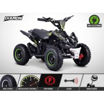 New Motorz - Pocket Quad Flip 800W - Mini Quad Enfant Electrique - Diamon - Limited Edition 2018 - Vert