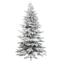 Everlands - Sapin de Noël Artificiel Alaskan Enneigé 180 cm