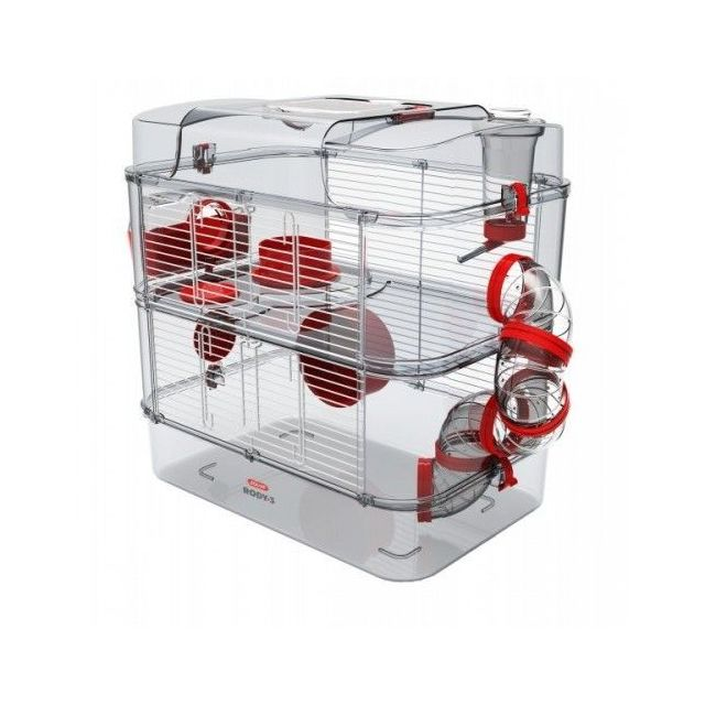Zolux Cage Rody 3 Duo pour Hamster