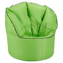 pouf avec dossier achat pouf avec dossier pas cher rue du commerce. Black Bedroom Furniture Sets. Home Design Ideas
