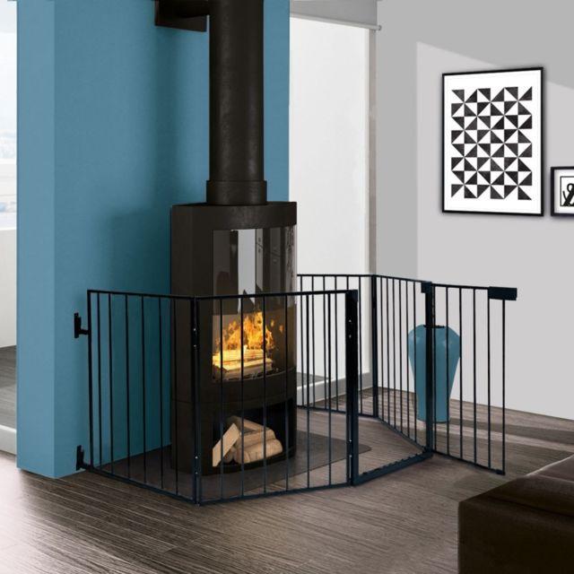 idmarket barri re de s curit enfant pare feu de. Black Bedroom Furniture Sets. Home Design Ideas