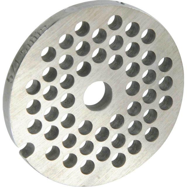 Reber Grille inox Pour hachoir électrique ou manuel n°5 Trou 4,5mm