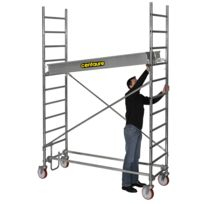 CENTAURE - Echafaudage aluminium roulant ST 2, plancher jusqu'à 1m90 - 414812