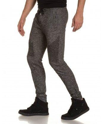 Project X - Pantalon jogging homme noir biker fashion - pas cher ... 77a9a53fdbab