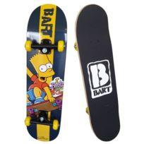 Ertedis - Les Simpsons Skateboard Apprentissage Bart Simpsons