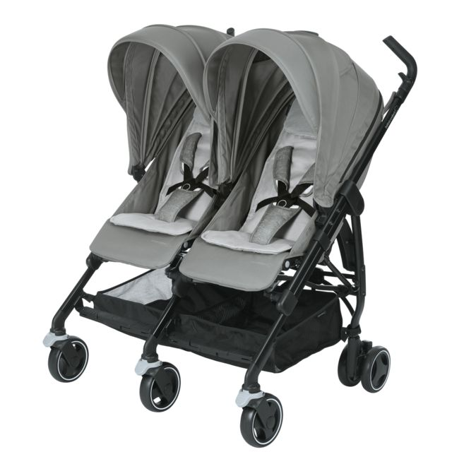 Bébé Confort - Pousette double Dana For2 - Nomad Grey