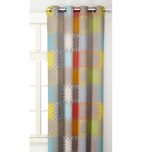 Homemaison - Rideau multicolore à \