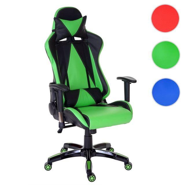 Mendler Chaise fauteuil de bureau Loksa T682 Xxl, chaise