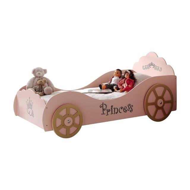 Vipack Funbeds Lit voiture Princess Pinky