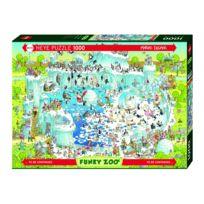 Heye - Puzzle 1000 pièces : Zoo, habitat polaire
