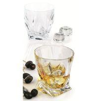 Verrerie De Boheme - Lot de 6 verres quadro