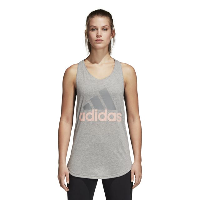 Adidas Débardeur femme Essentials Linear Loose pas cher