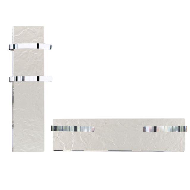 valderoma s che serviette rayonnant slim ardoise blanche 500w 500 w pas cher achat vente. Black Bedroom Furniture Sets. Home Design Ideas