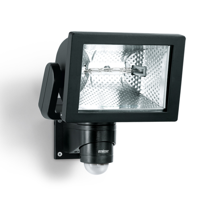Steinel - Projecteur extérieur à détecteur Hs 500 Duo Noir