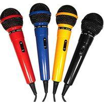 Ibiza Sound - Ltc Dm-400 4 Micros karaoke, chant, Dj