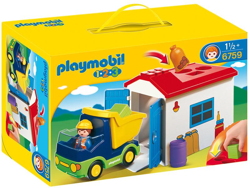 Camion avec garage - 6759