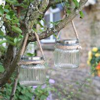 Smart Garden - Lot de 2 lanternes Led solaire hauteur 12cm
