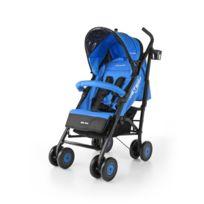 Milly Mally - Poussette canne compacte enfant bébé 6m+ avec équipement Meteor | Bleue