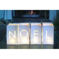 Millumine - Noel en Sacs Lumière Ignifugés