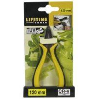 Lifetime Tools - 42564 Mini Pince Chrome Vanadium Multifonction 12 Cm