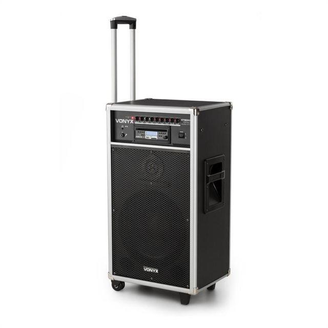 VONYX ST180MKII système de sono mobile 450 W USB, SD/MMC pour lecteur CD MP3