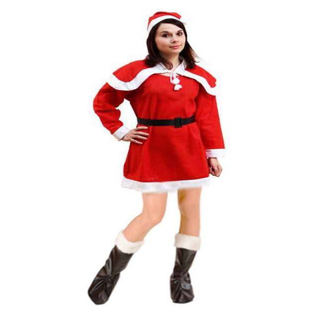 271cb51613832 Artifetes - Costume Mère-Noël - Taille unique - pas cher Achat ...